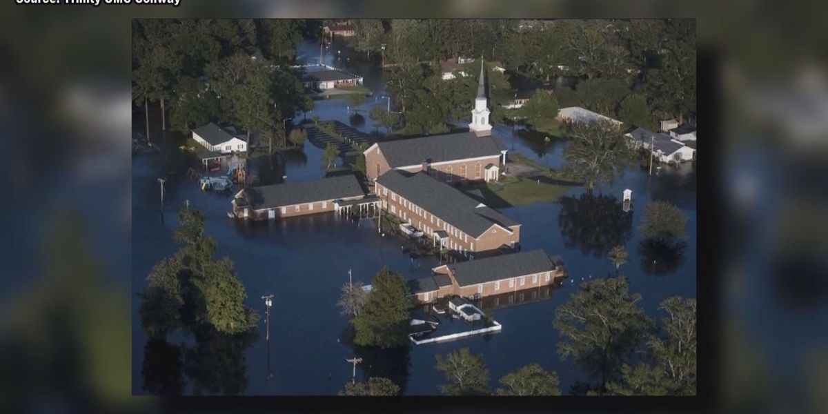 Pews remain empty in Conway church 6 months after Hurricane Florence