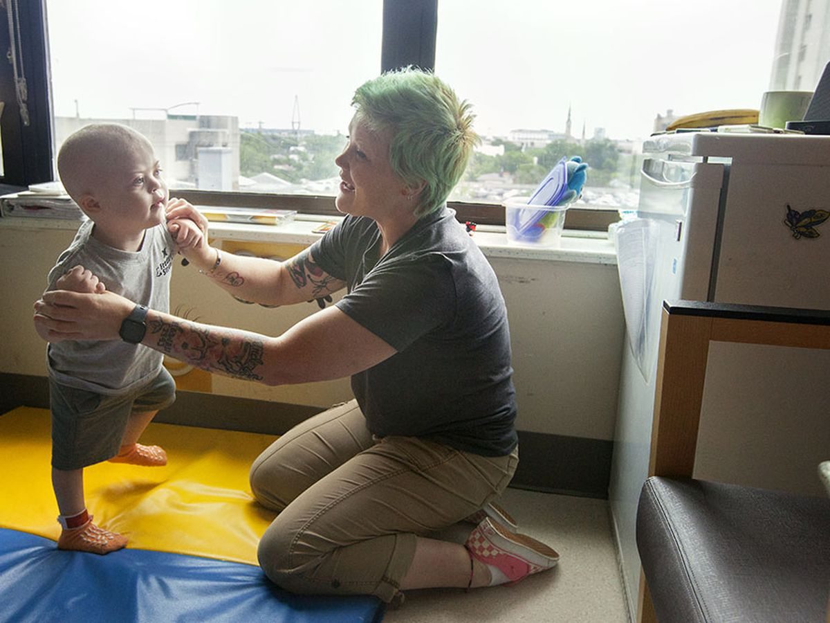 Mother asks for birthday cards for 2-year-old son with Down syndrome, leukemia at MUSC