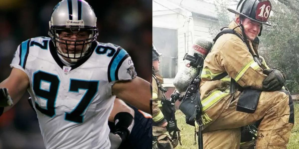 Charlotte firefighter, former Panther to announce pick at this week's NFL Draft