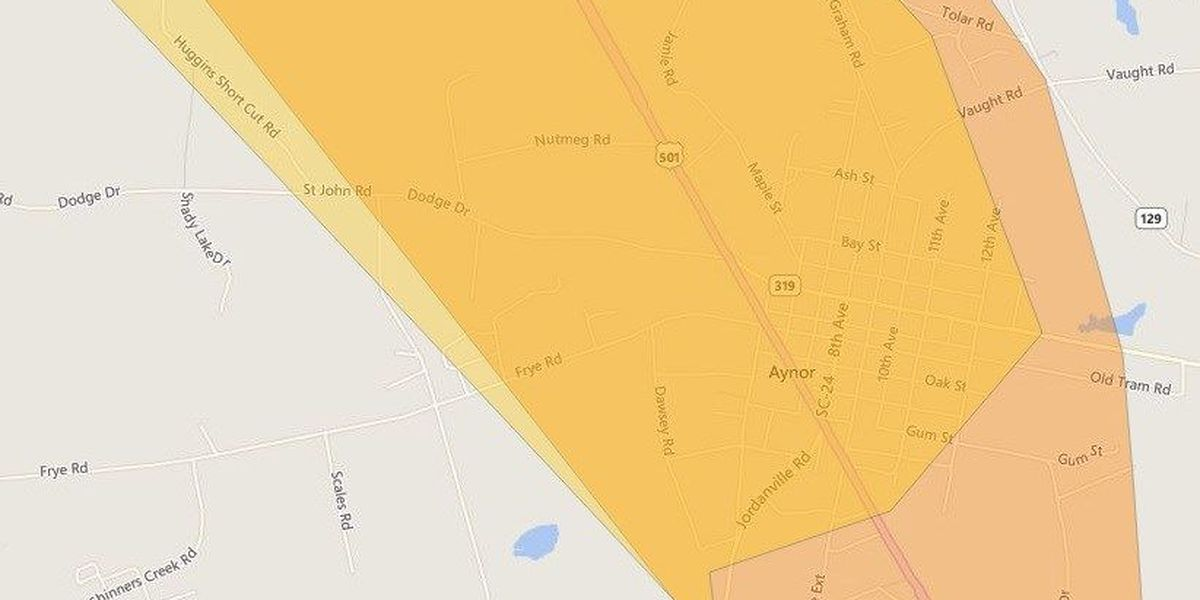 Duke Energy customers report power outages in Horry County