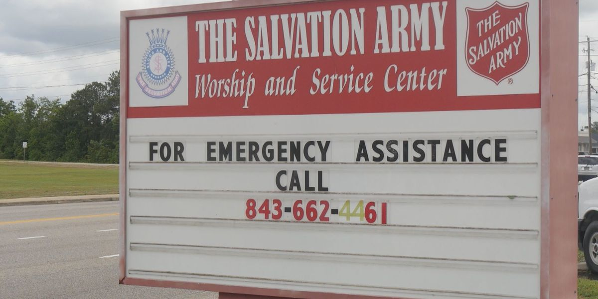 Carolina Cares donations bring much needed support to the Salvation Army of Florence