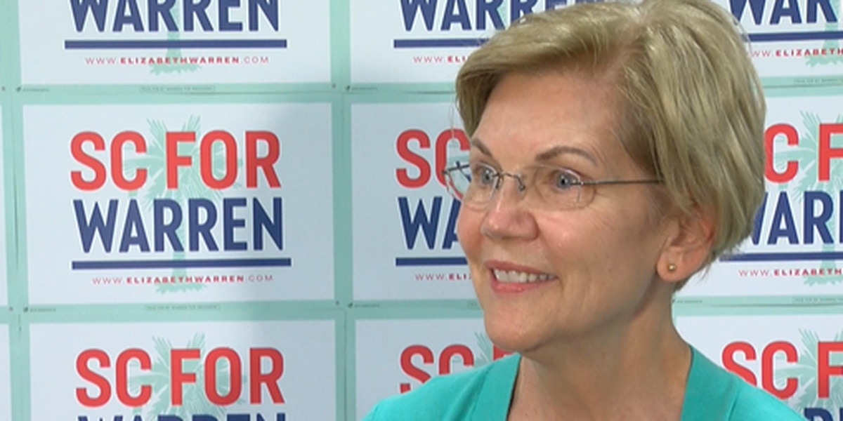 Sen. Elizabeth Warren visits South Carolina ahead of February primary
