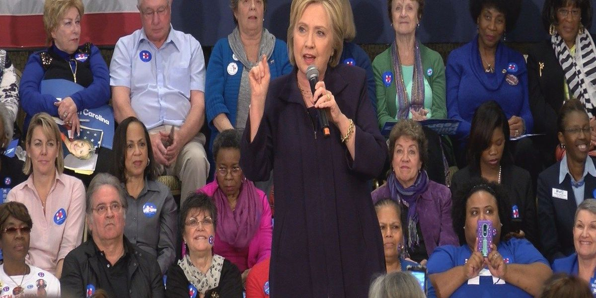 Hundreds attend Clinton's first Myrtle Beach rally of election season