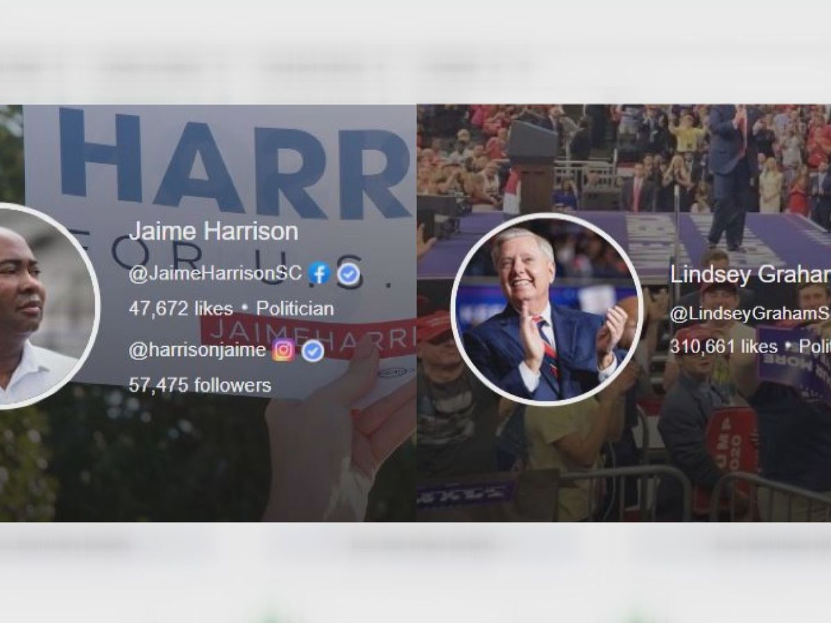 SENATE RACE DATA: Graham, Harrison races spend millions on Facebook ads