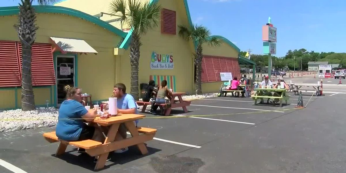 'We're just excited even if it's half': South Carolina restaurants reopen for outdoor dining