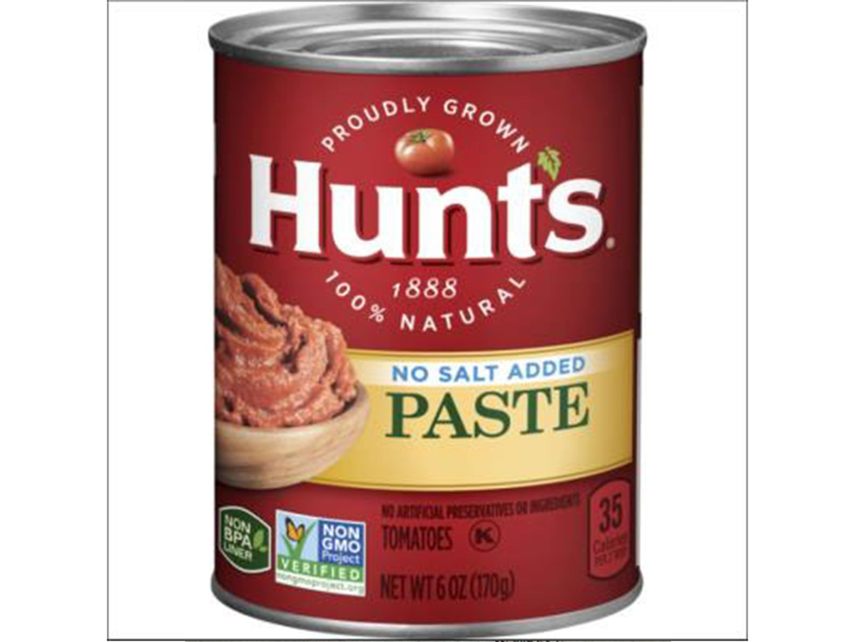 Hunt's Tomato Paste recalled over potential presence of mold