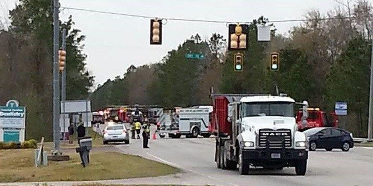 Three injured in multi-car crash on U.S. 501 Business at S.C. 90