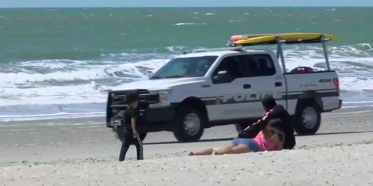 Police will not break up groups of 8 on Horry County beaches, according to the chief