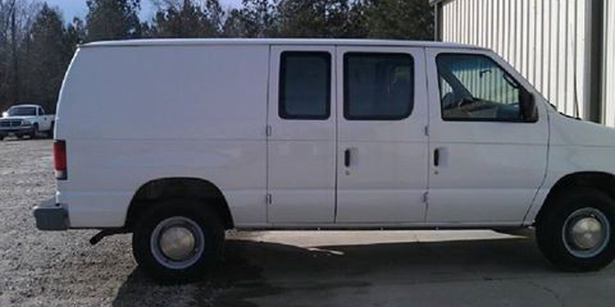 Darlington law enforcement ask for public's help in locating stolen van