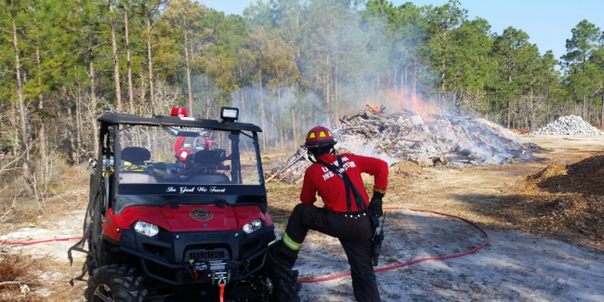 North Myrtle Beach Fire conducts controlled burn