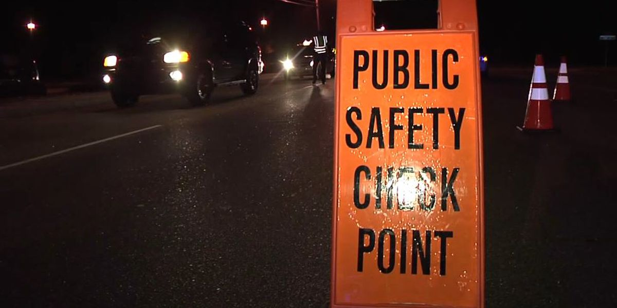 Conway police conducting public safety checkpoints this month