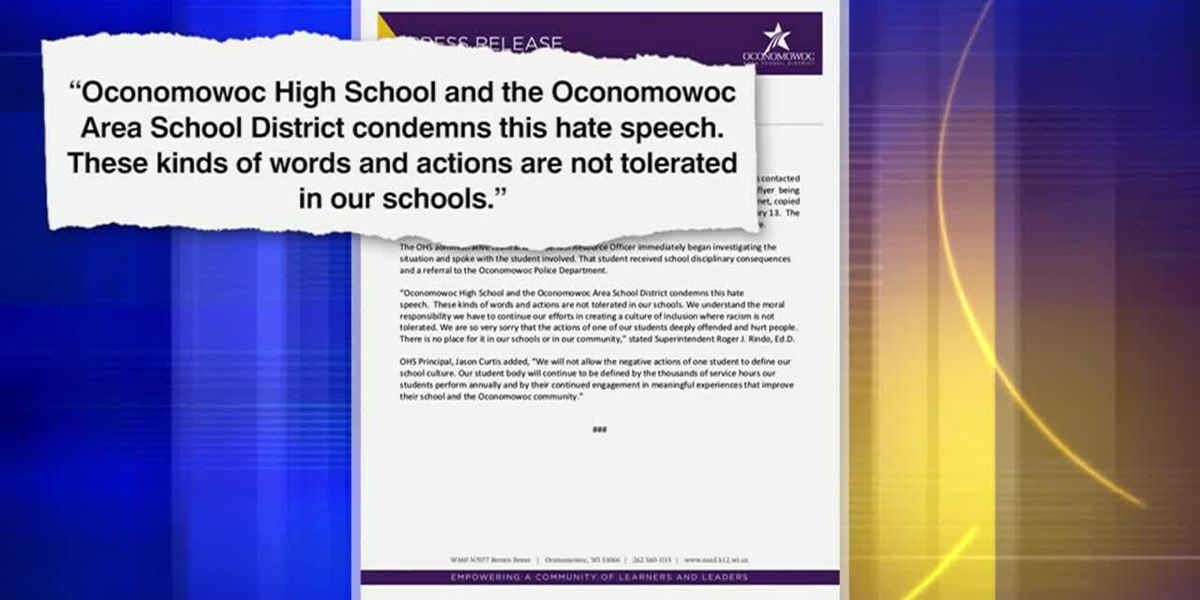 Student distributes 'n-word pass' at high school, cold face legal trouble