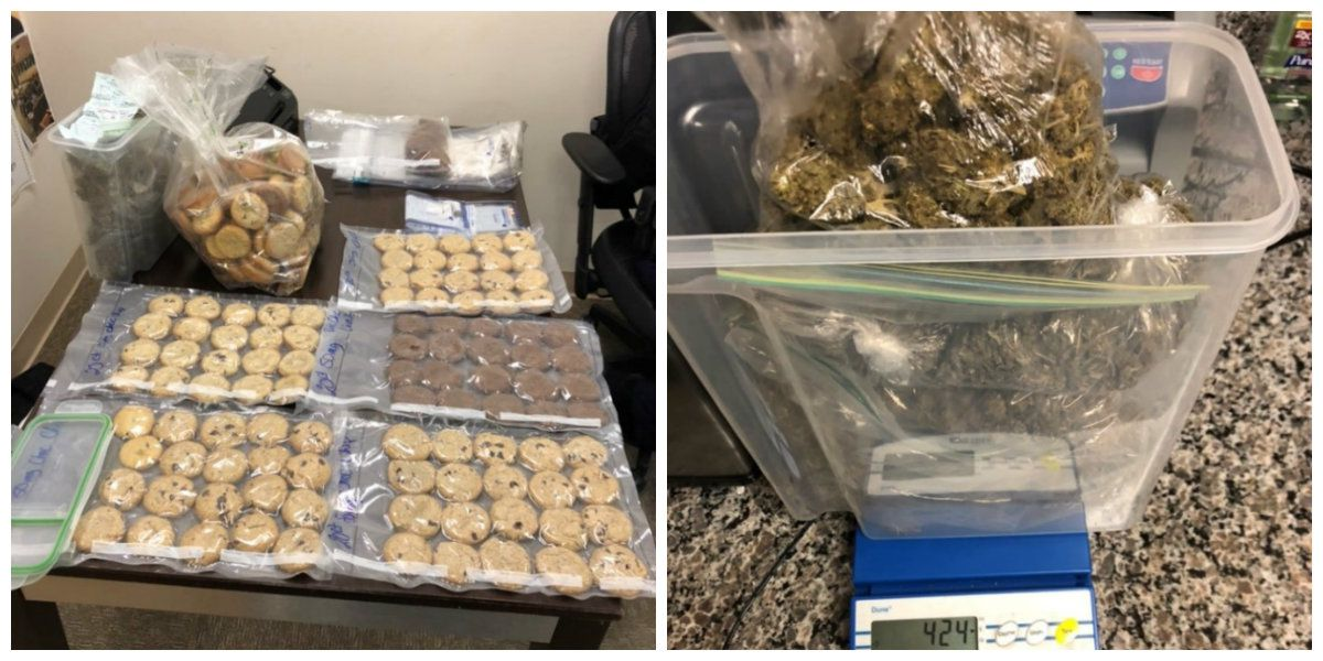 Police seize marijuana-infused cookies after drug raid at Conway apartment complex