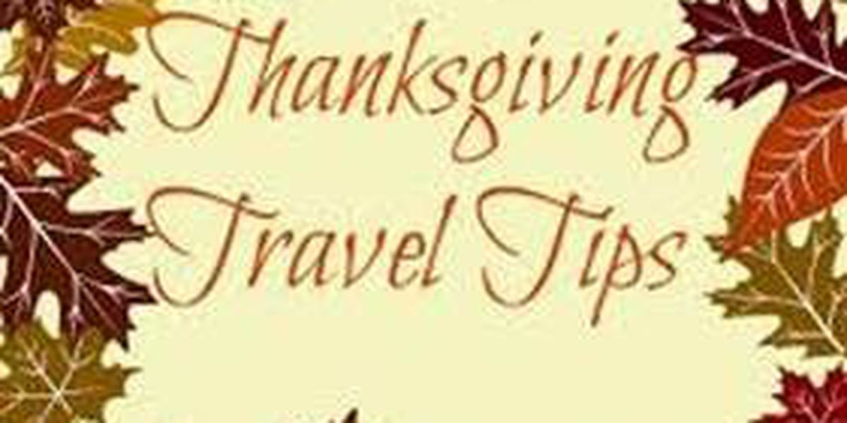 Local police departments offer Thanksgiving travel tips