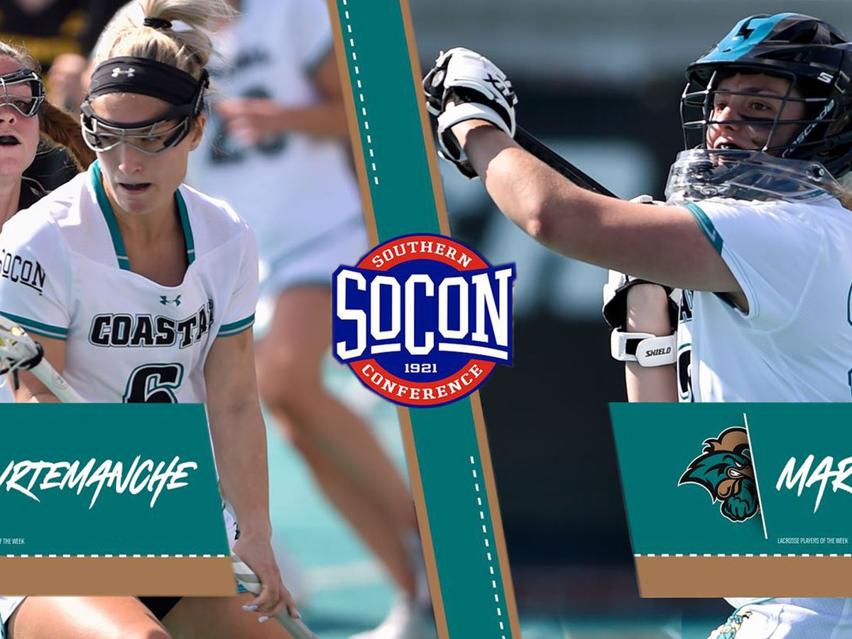 Chants sweep SoCon Lacrosse Player of the Week awards