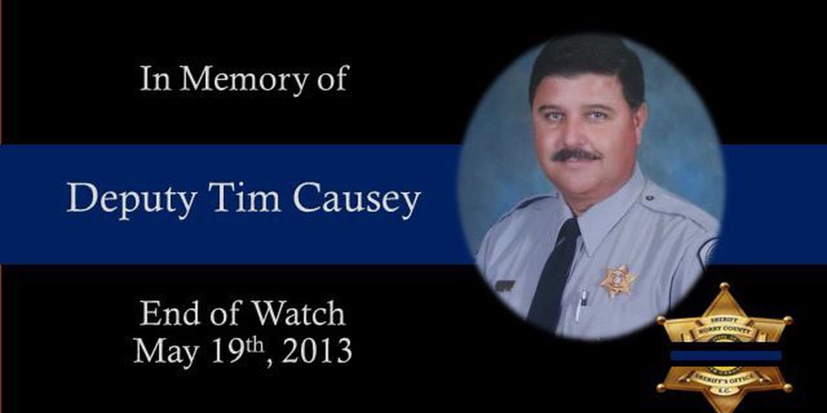 Horry County Sheriff's Office honors fallen deputy six years after his death