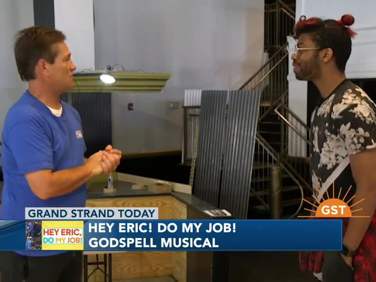 Hey Eric Do My Job: Dancing in Godspell!