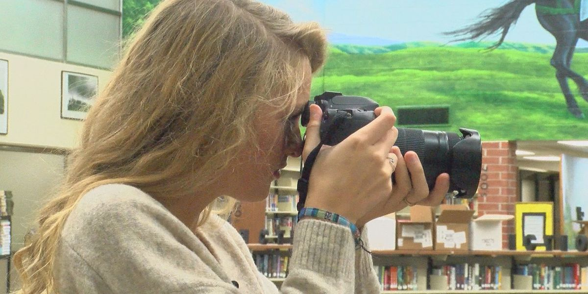 Student Spotlight: Senior uses eye for photography to promote school
