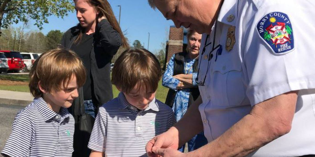 Horry County 8-year-old praised for emergency actions after twin brother has seizure