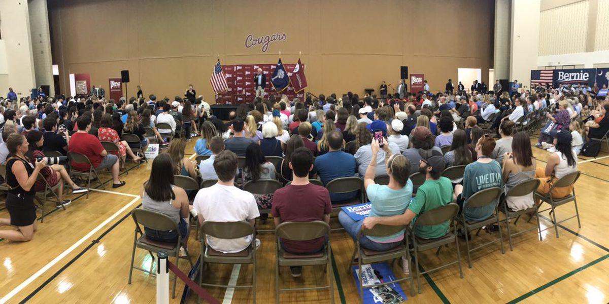Presidential Candidate Bernie Sanders visits CofC