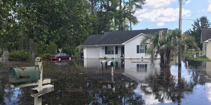 Conway experiences historic flooding