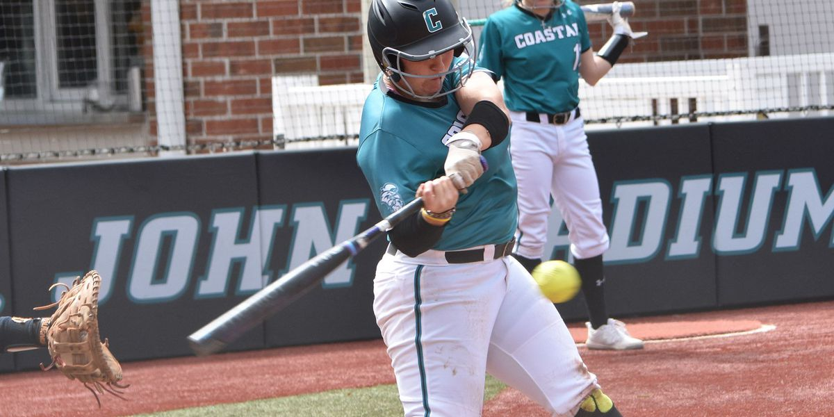 Coastal softball scores 12 runs in final five innings to defeat UNCW, 12-5