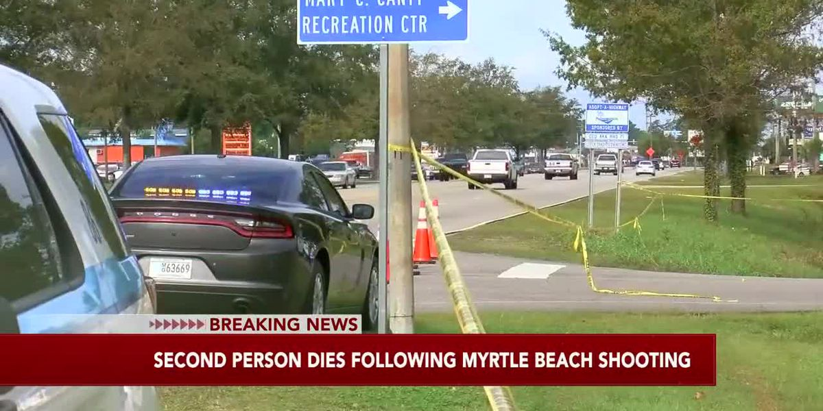 Authorities: Second person dies following shooting at Myrtle Beach restaurant