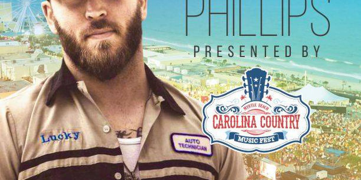 Josh Phillips scheduled to perform at 2018 CCMF