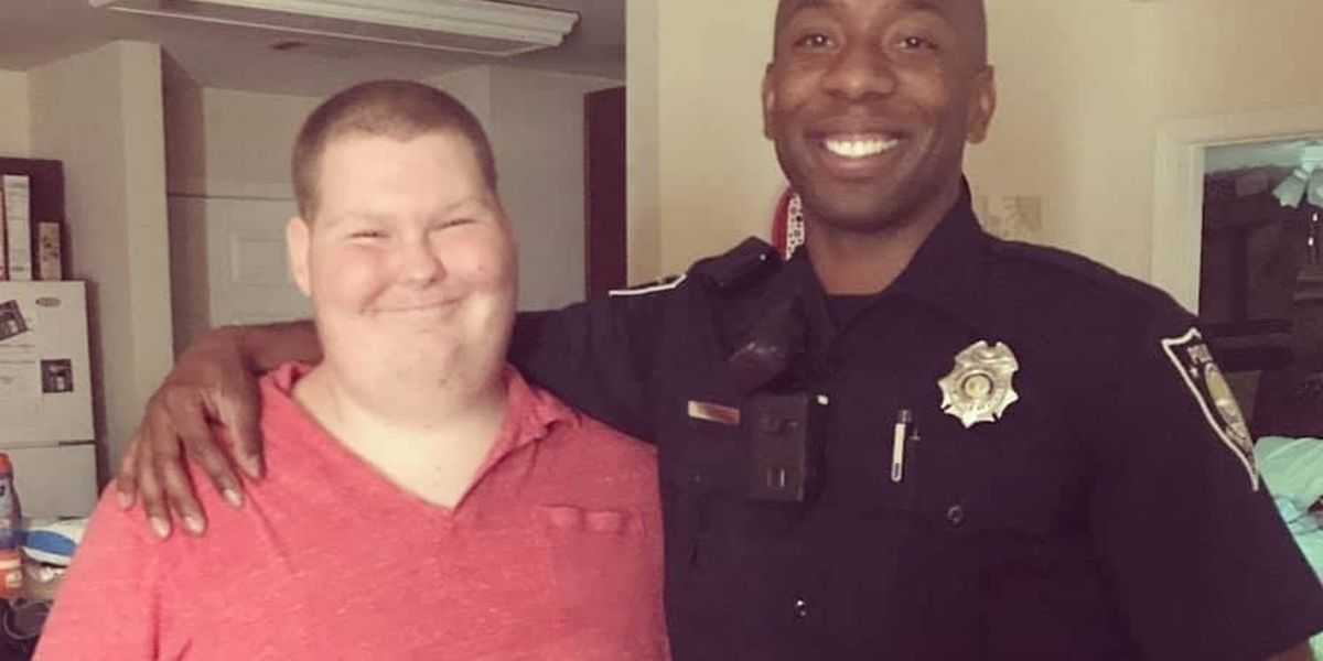 Myrtle Beach Police officers fund shopping trip for young man in need