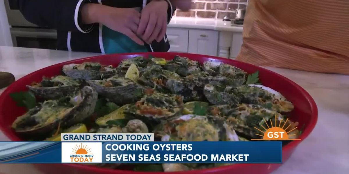 Seven Seas Seafood Market shares an oyster recipe that can be a great holiday dish