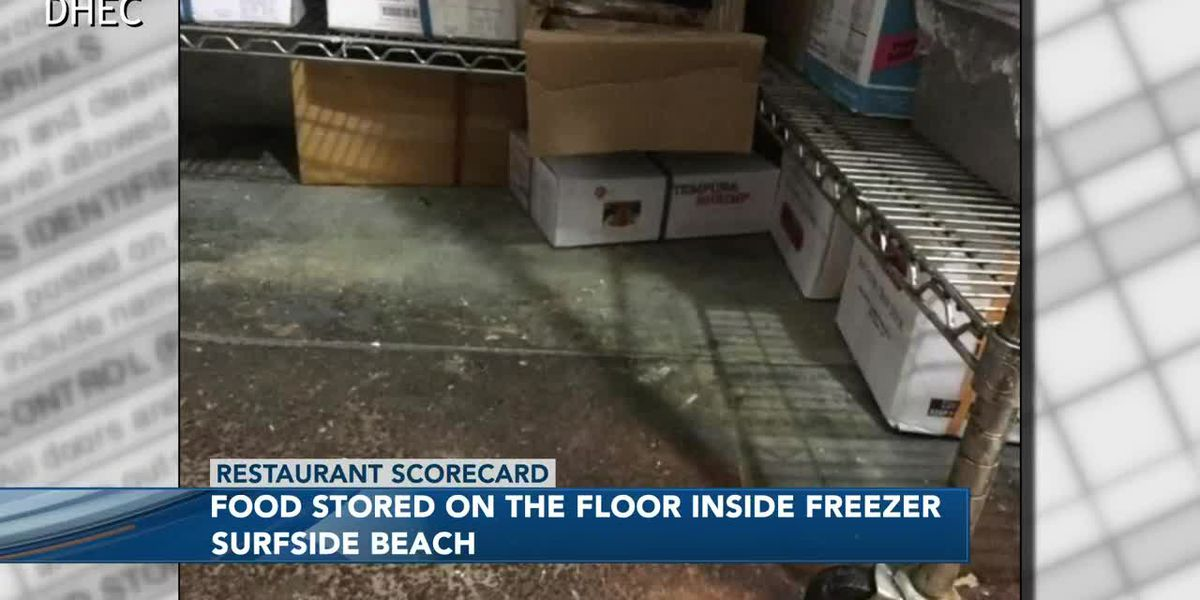 Restaurant Scorecard: Inspectors discover food stored on the floor, other food encased in ice