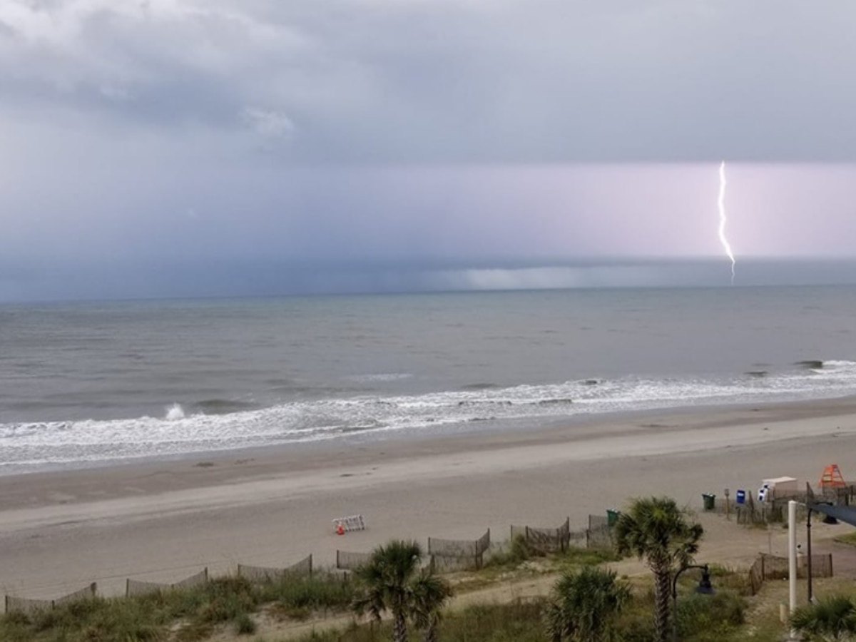 Trees down, power outages reported as strong storms push through Grand Strand, Pee Dee