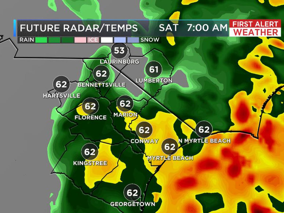 FIRST ALERT: Rain finally tapers off