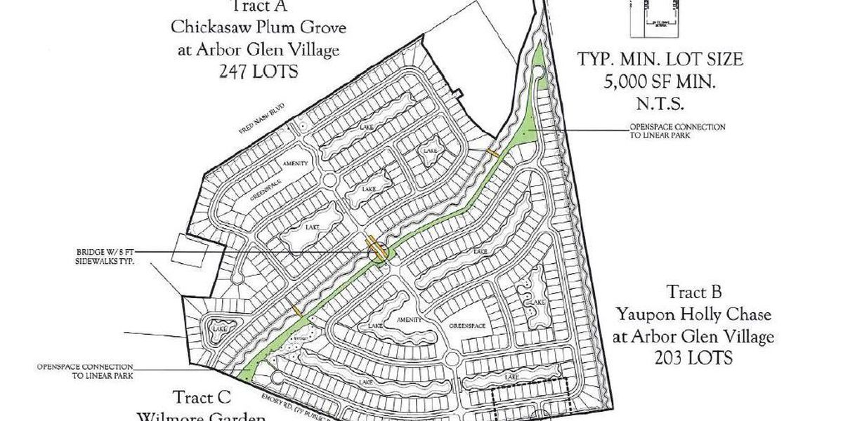 New neighborhood with more than 500 homes coming to Fred Nash Boulevard