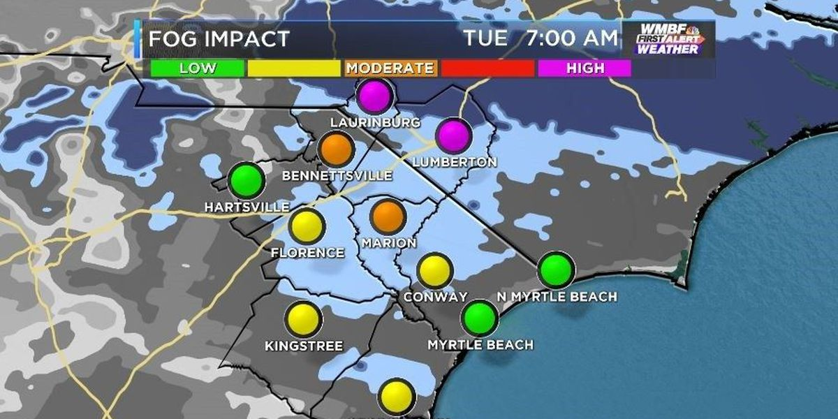 FIRST ALERT: Sunny, mild day ahead before a rainy Wednesday