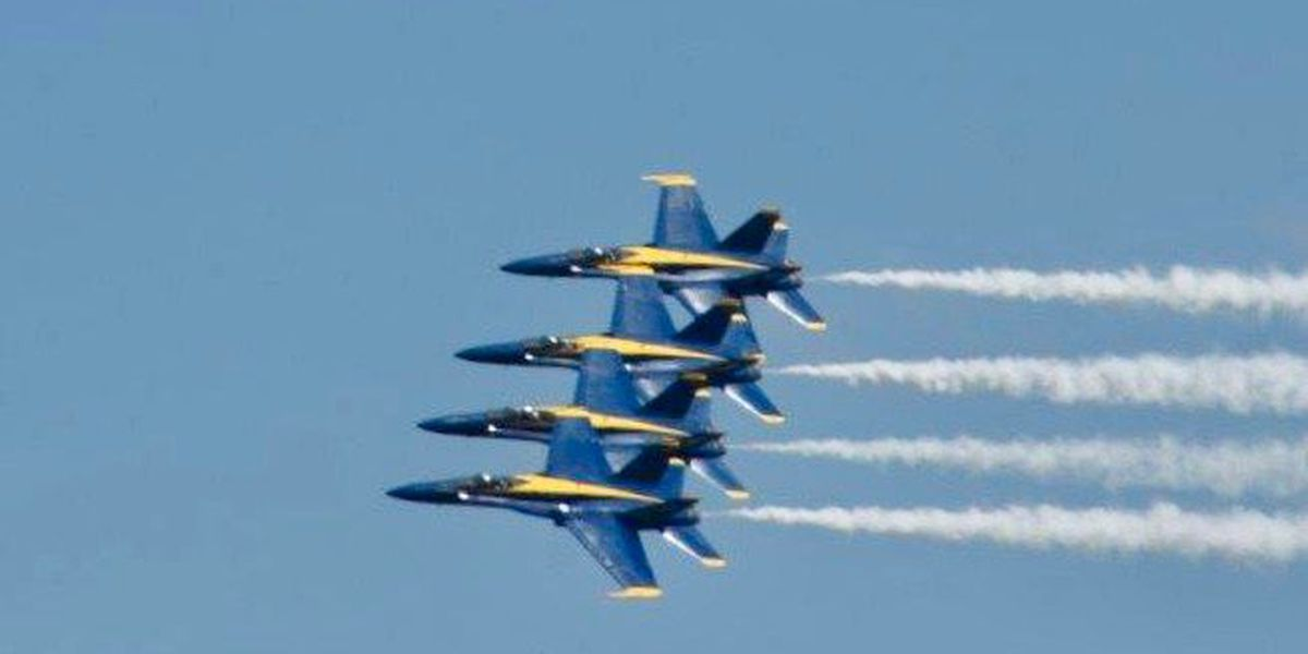 Photos and video from the Wings Over Myrtle Beach Air Show