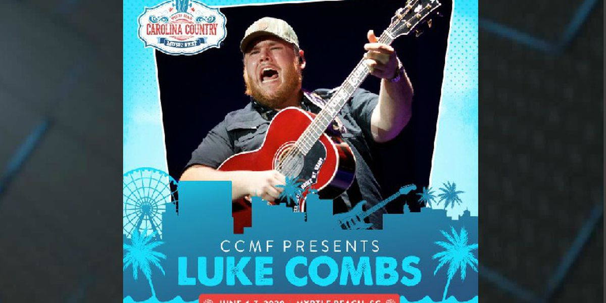 Luke Combs announced as first headliner for CCMF 2020