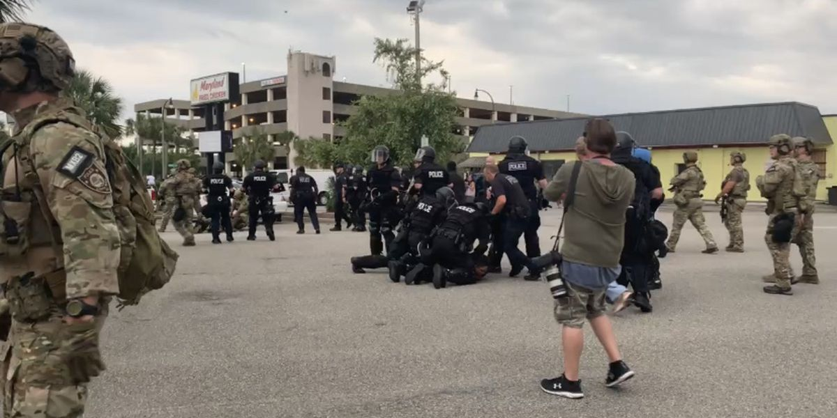 Myrtle Beach police make 26 arrests during protests, 5 from out of state