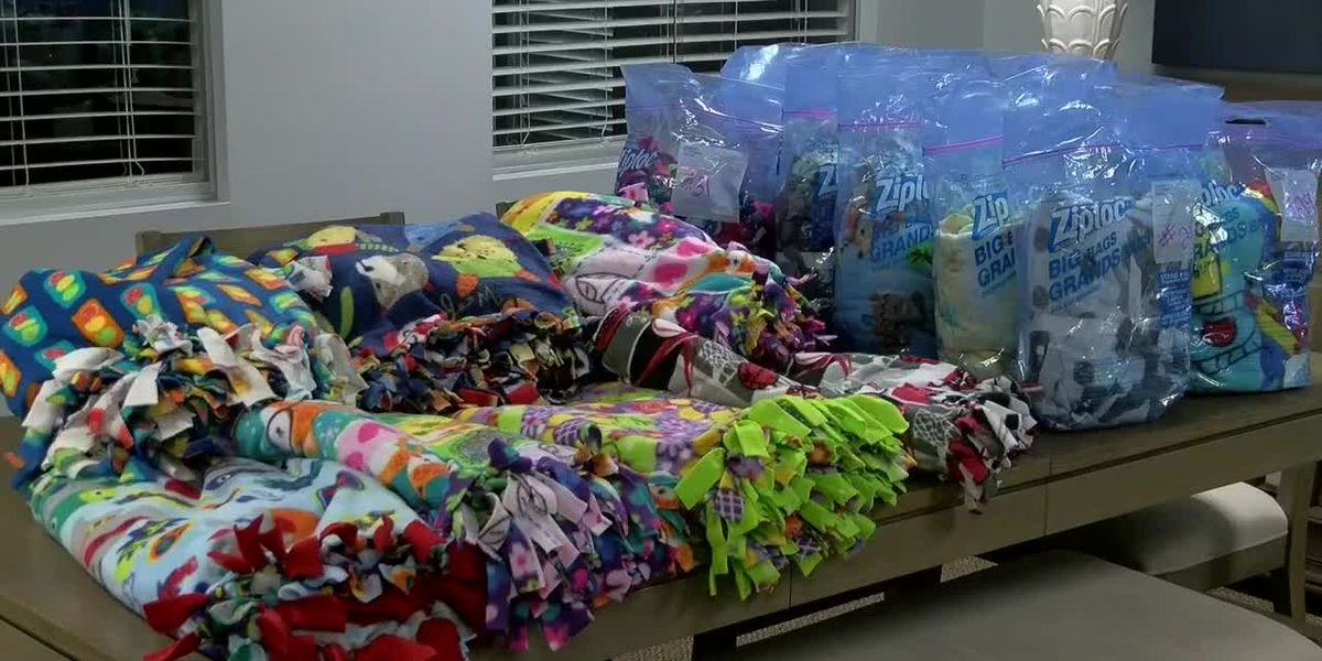 Pee Dee company makes, donates blankets to those in need