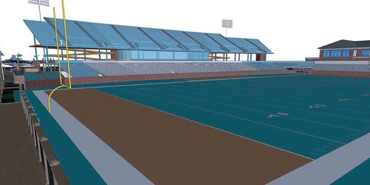 Coastal Carolina Board Of Trustees Approve Brooks Stadium Expansion
