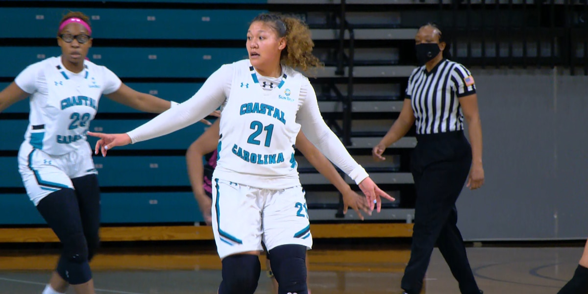 Blount scores 30 in Coastal's 72-58 loss to App State