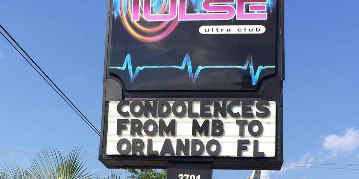 Pulse Ultra Club in Myrtle Beach holds moments of silence for Orlando shooting