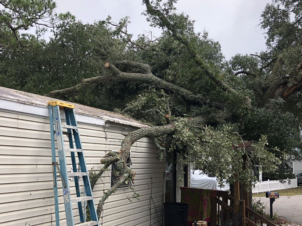 Tornado damages homes in Myrtle Beach neighborhood