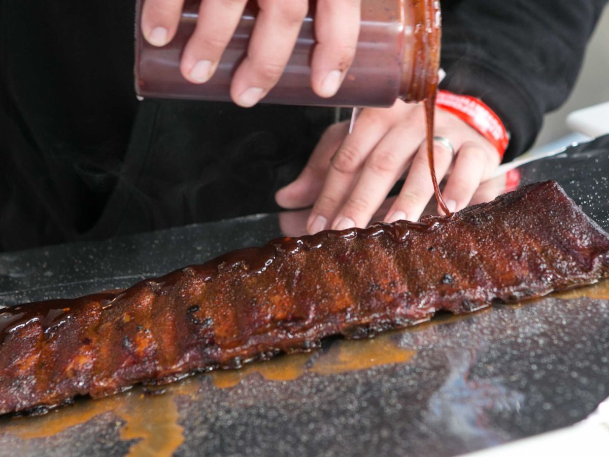 You could get paid $10,000 for 2 weeks of eating ribs and traveling the country