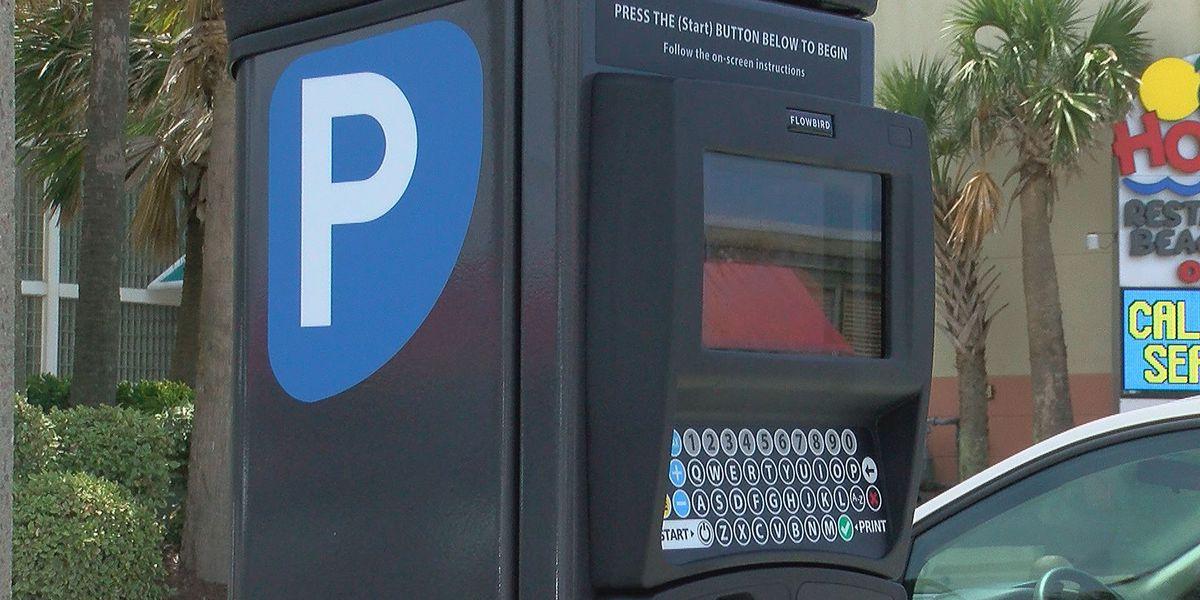 Paid parking to begin this week in North Myrtle Beach