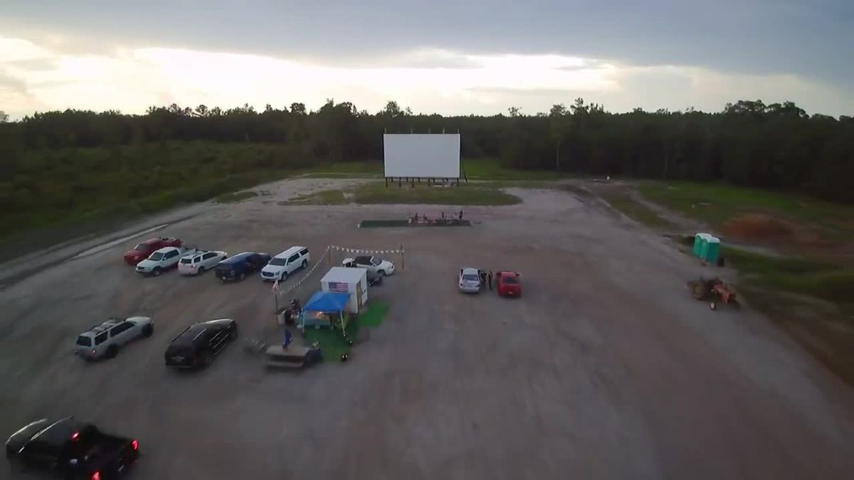 This is Carolina: Woman engineers, builds newest drive-in movie theater 'like a soup bowl'