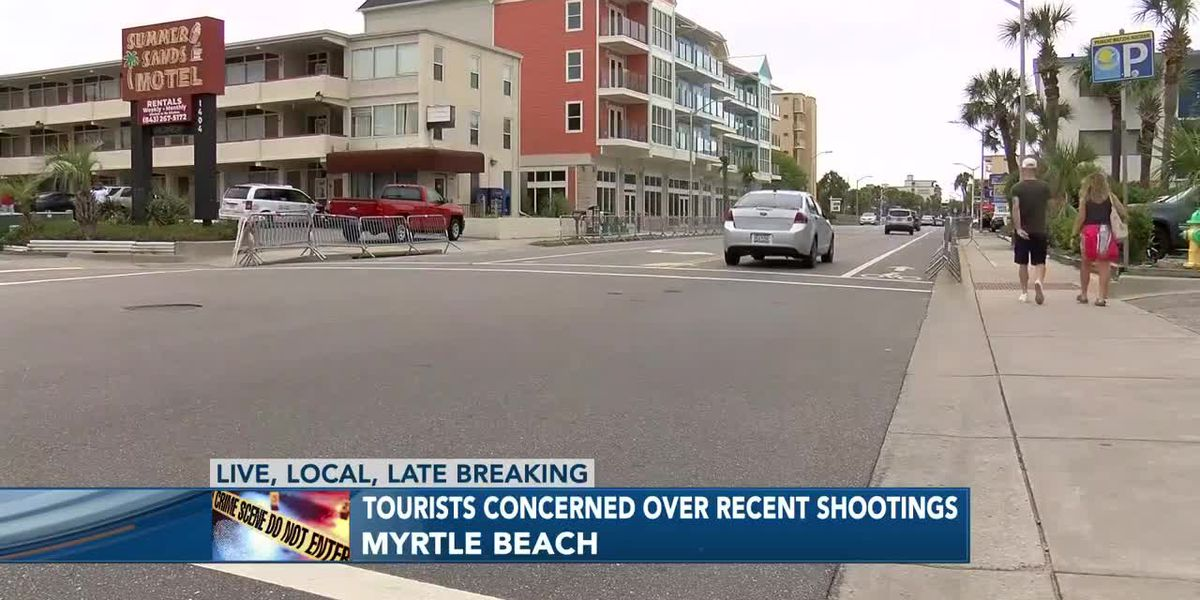 'People are acting like animals': Tourists react to recent Myrtle Beach shootings