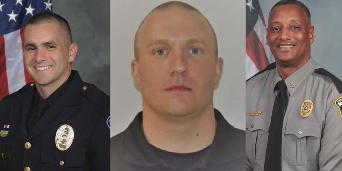 'It's a very sad time': Law enforcement community mourns loss of three officers in 12 days