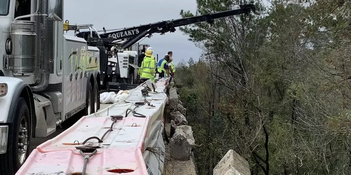 Repairs to concrete barrier along U.S. 501 bridge in Conway complete