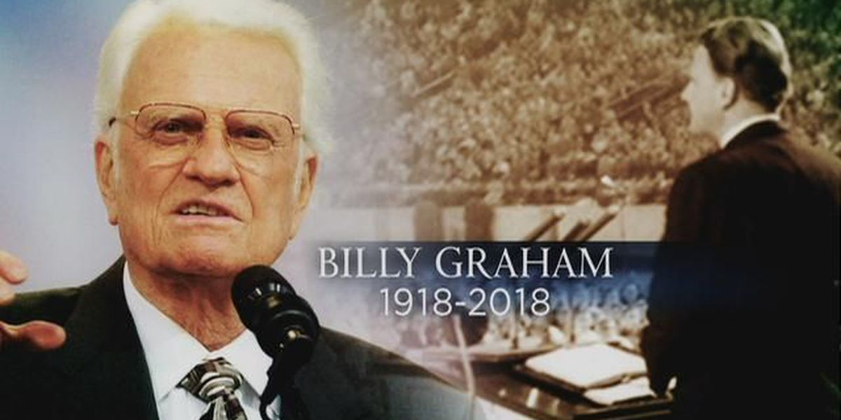 WATCH LIVE: Funeral services for Billy Graham begin at 12 p.m.